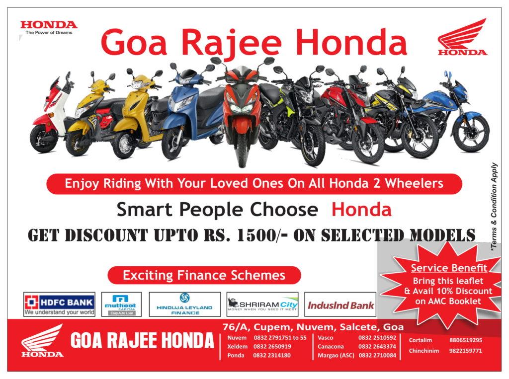 Goa Rajee offer