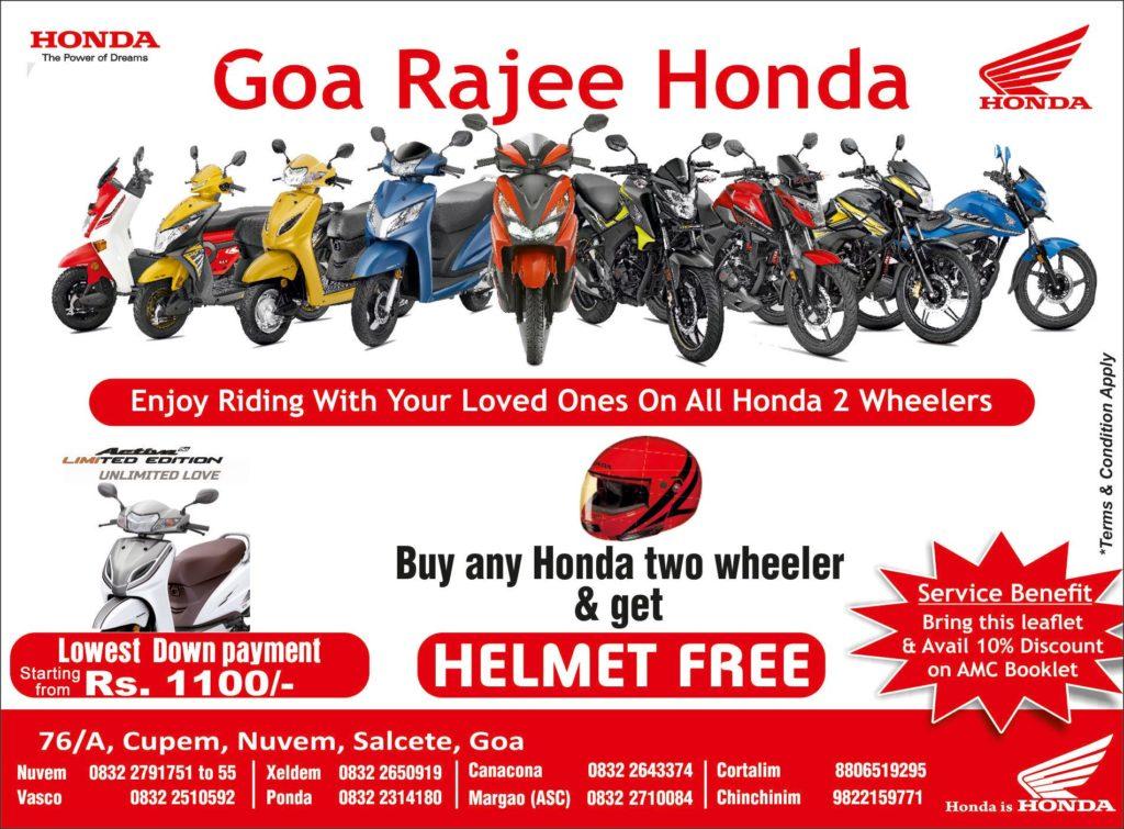 Honda-bikes-offers-Goa