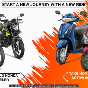 Goa Rajee - Honda exchange offer